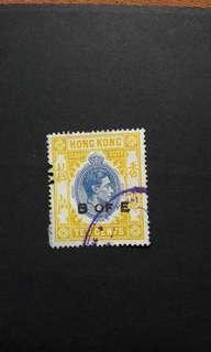 香港喬治六世印花