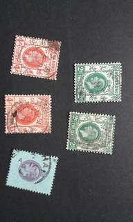 香港喬治五世郵票