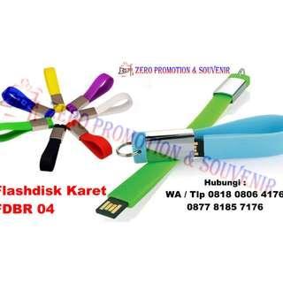 Flashdisk Karet Murah Souvenir Perusahaan - FDBR04