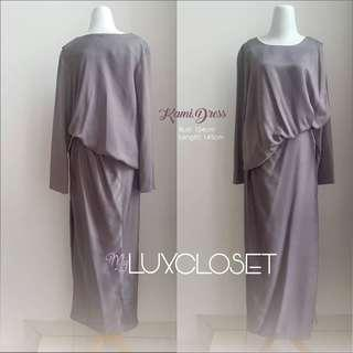 Kami Walnut Dress - kami kaftan