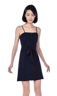 🚚 the editors market karine navy dress