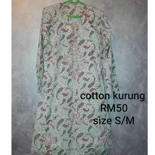 Kurung cotton