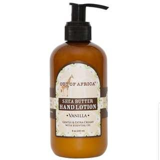 Out of Africa, Hand Lotion, Vanilla, 8 oz (230 ml)