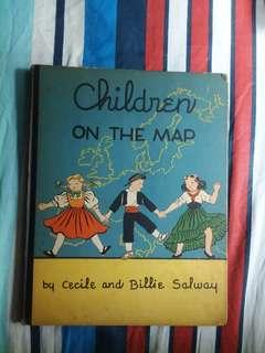 CHILDREN ON THE MAP by Cecile & Billie Salway, 1938