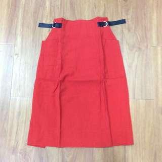 繭型半身裙