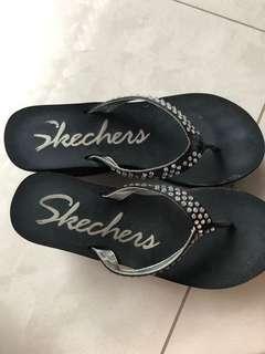 Sandal skechers sandal wedges original