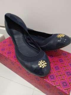 Authentic Tory Burch Royal Navy Flats