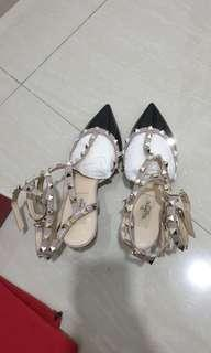 Valentino garavani rockstud kitten heels