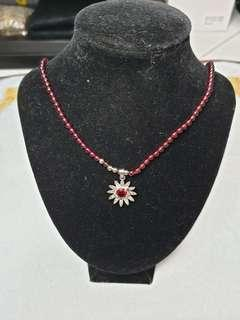 🚚 Necklace 石榴石项链