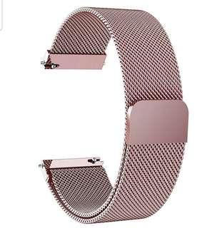 Magnetic Closure Stainless Steel Watch Band Strap
