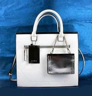 ZARA WHITE BAG