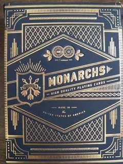 MONARCHS PLAYING CARD