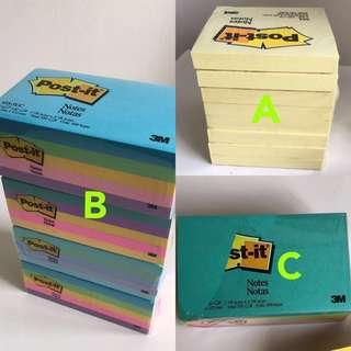 3M post-it Notes, sticky notes planner, planner sticky pad, stationery, paper, pencil, pen, labels, label, exams, examination, primary, secondary, school, note pad, white board, lecturer, teacher, teach