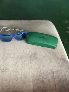 lacoste sunglassess original with price tag