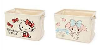 My Melody / Hello Kitty Foldable Basket
