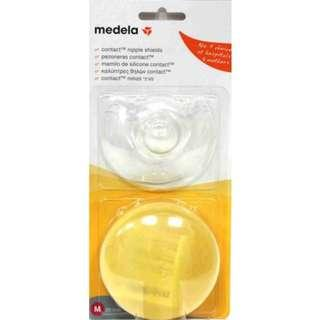 Medela Contact Nipple Shields With Casing Size M -1Pair