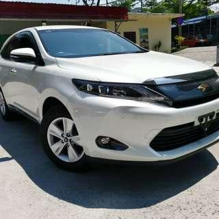 New Recond Toyota Harrier 2.0 Elegance Spec Half Leather