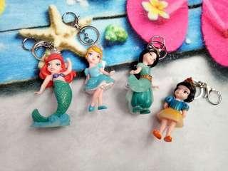 Gantungan Kunci Princess Disney