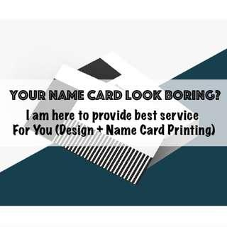 NAME CARD DESIGN & PRINTING SERVICE