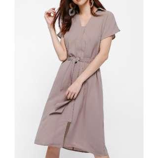 Love Bonito Lela Belt Sash Midi Dress