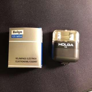 Holga 120mini 閃光燈