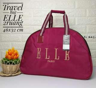 Travel bag elle 2 ruangan