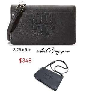 aee8a27ee45f2 READY STOCK authentic new Tory Burch Bombe T Small Cross Body Clutch Bag
