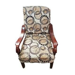 Single Wooden Sofa