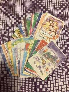 27張 聖誕 小小心意卡 27張卡 連原裝彩色信封