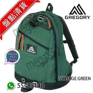 🎊 GREGORY Day pack 26L背囊 淨色系列🎊 VINTAGE GREEN