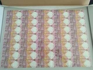 HSBC 匯豐 150週年紀念鈔 35連張 150週年 紀念鈔 中銀 渣打