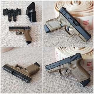 [1x Free Grenade]1/6 G19 (Glock 19) [phicen / TBLeague / Hot Toys / Diorama / Kitbash / Gun / Handgun / Pistol / Rifle / Weapon ]