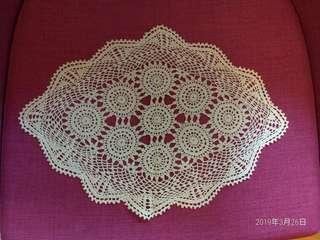 编織装飾墊子一套3塊