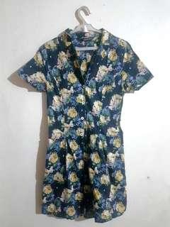 Floral Romper (shorts)