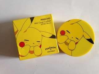 NEW Tony Moly x Pokemon Mini Cushion #01 Bedak Pikachu