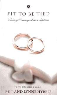 Book: Fit to be Tied ~ Making Marriage Last a Lifetime