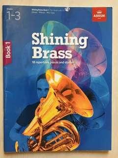 Shining Brass, Book 1: Grade 1-3 with CD