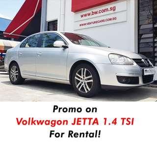 Volkswagen Jetta for rental