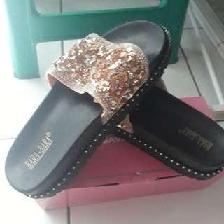 Sandal Wedges Jelly Blink Size 40