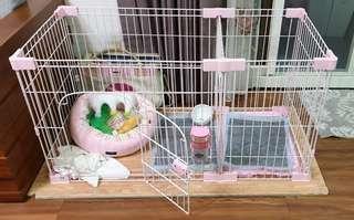 粉紅色狗屋
