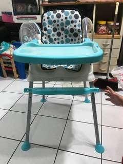 嬰兒餐桌 兩段式調整