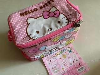 🚚 Hello Kitty Lunch bag with contents