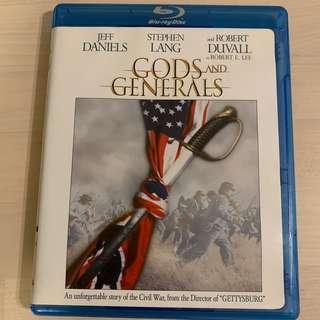 Blu Ray 戰役風雲 Gods & Generals 美版英文字幕