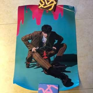 Wooseok, Wanna One, Monsta X, SF9 Chani Posters