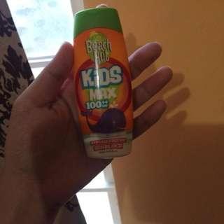Beach Hut Sunscreen for Kids. 90-95%