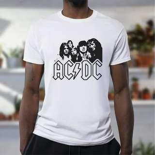 ACDC inspired T-Shirt! 100% cotton HIGH Quality!