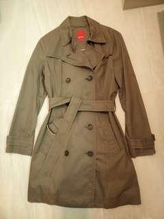 Esprit trench coat 風褸外套 size M