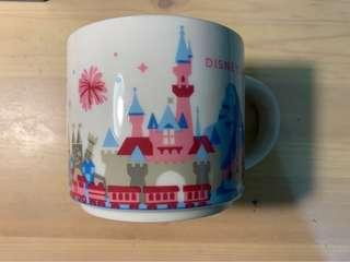 🚚 星巴克迪士尼馬克杯 Disneyland (LA) Starbucks YOU ARE HERE mug, [可議價]