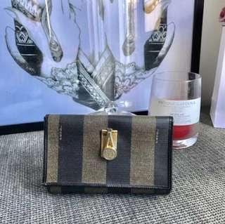 AUTHENTIC VINTAGE FENDI WALLET MADE IN ITALY PRICE IS FIRM