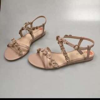 Nine West 精品鞋 波西米亞涼鞋